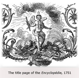 The title page of the Encyclopedie