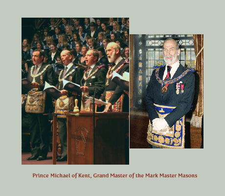 Prince Michael of Kent, Grand Master of the Mark Master Masons