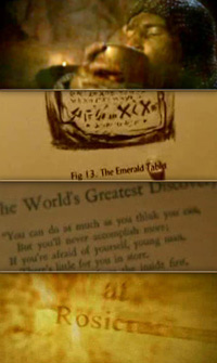 Screenshots from the movie, The Secret