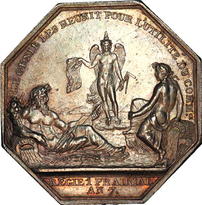 2  Masonic Emblems on Coins and Medallions during the French