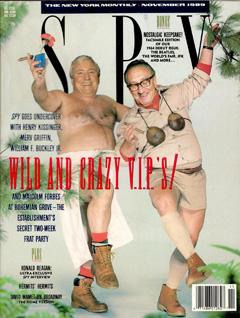Inside the Bohemian Grove: Kissinger and Merv Griffin