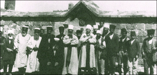 Salih Niyazi Dedebaba and his dervishes