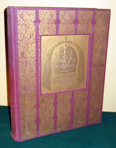 "The ""Unique Gold Book"": a copy of An Ehren Und An Siegen Reich (1908) recently for sale on EBay."