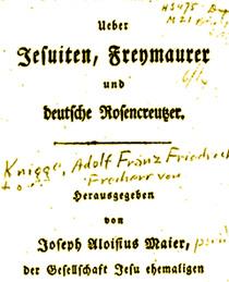Jesuiten-Freymauer-Rosenkreuzer