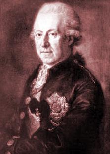 Count Anton Clemens von Törring zu Seefeld (1725 Munich, Germany – 1812 ib.)