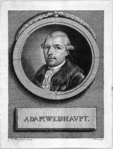 Johann Adam Weishaupt (1748-1830); founder of the Order of the Illuminati