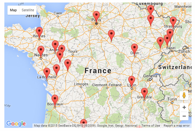 Carbonari-Conspiracy-France-Locations